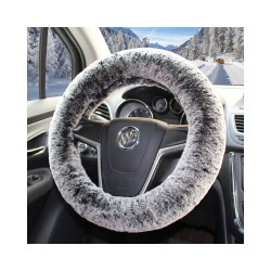 Winter Warm Plush Non-slip Car Steering Wheel Cover