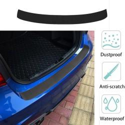 Carbon Fiber Door Rear Guard Bumper Protector Stickers